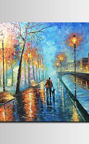 手描き抽象/風景スタイルの油絵、キャンバス1つのパネル