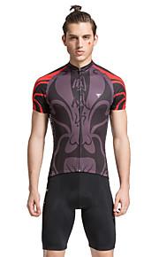 tasdan pyöräily kulumista miesten pyöräily vaatteet pyöräily sarjaa pyöräily pelipaidat lyhythihainen + pyöräilyshortsit