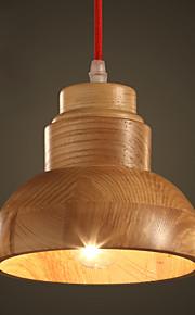 MAX 60W Tradicional/Clásico / Rústico/Campestre / Campestre Mini Estilo Pintura Madera/Bambú Lámparas ColgantesSala de estar / Comedor /