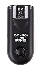 yongnuo® rf-603C ii c3 draadloze flitser trekker Canon 5D / 50iii / 6d / 7d