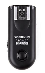 yongnuo® RF-603C II c3 flash wireless grilletto Canon 5D / 50iii / 6d / 7d