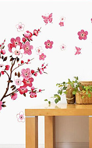 Animals / Botanical / Cartoon / Romance / Still Life / Fashion Wall Stickers Plane Wall Stickers , PVC 60cm*90cm