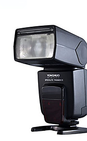 YONGNUO® YN568EX II Flash, High Speed, Ultra Powerful GN Master Control, Off Camera Speedlite for Canon