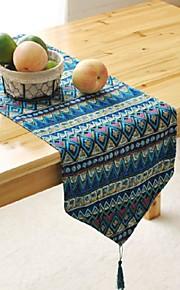 геометрический узор таблица бегуна моды Hotsale высокого класса хлопок белье столешница декоративный элемент