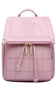 HOWRU® Women 's PU Backpack/Tote Bag/Leisure bag/Travel Bag-Pink