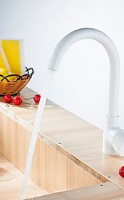 Kolmiosainen Yksi kahva yksi reikä with Nikkeli kiillotettu Kitchen Faucet