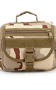 10-20 L Bolsa de hombro Acampada y Senderismo / Escalar / Fitness Al Aire Libre Listo para vestir / Resistencia a los golpesCafé / Gris /