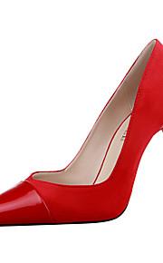 Chaussures Femme-Bureau & Travail / Décontracté-Noir / Rose / Rouge / Gris / Bordeaux-Talon Aiguille-Talons / Bout Pointu / Bout Fermé-