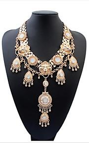 Vintage Style Chic Lion Shaped Pendants For Women Statement Necklace Choker Unique Jewelry