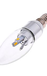 Ampoules Bougies LED Décorative Blanc Chaud / Blanc Froid HRY 1 pièce AR111 E14 3W 6 SMD 5730 300 lm AC 85-265 V
