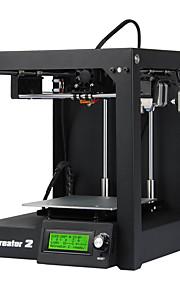 Geeetech MeCreator 2 Desktop  Ultra High Precision Sheet Metal 3D Printer with Nozzle 0.4/ 1.75 220V Power Supply