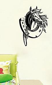 Животные / Геометрия / фантазия Наклейки Простые наклейки,VINYL 58*43cm