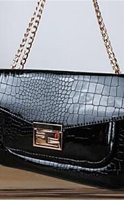 Women PU Sling Bag Shoulder Bag-Blue / Red / Black