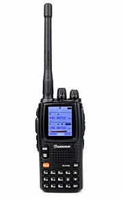 WOUXUN KG-UV9D NEW Walkie-talkie 5W/2W/1W 999 400-470 mHz / 136-174 mHz 2000mAh 3-5 kmFM-radio / Nødalarm / Programmerbar med PC software