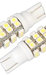 T10 W5W 168 194 señal de giro en cuña lado de la luz de la lámpara del bulbo blanco 28 SMD llevó la luz (12v, 2 PC)