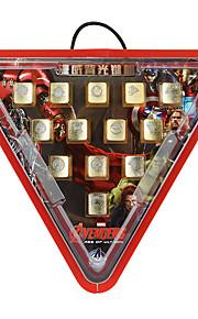 e-3lue Iron Man baggrundslys professionel mekanisk tastatur nøgle cap