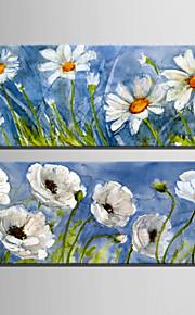Botanisch Canvas Afdrukken Twee panelen Klaar te hangen,Verticaal