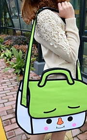 GPF 3D Three-dimensional Cartoon Satchel Shoulder Bag Cross Body Bag Tote Travel Bag