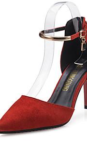 Chaussures de mariage-Noir / Rouge / Gris-Mariage / Bureau & Travail / Soirée & Evénement-Talons / Bout Pointu-Talons-Homme
