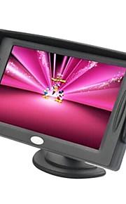 4,3 inch TFT-LCD auto achteruitkijkspiegel-monitor met tv