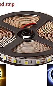 5m hry® smd5050 300led varm / kald hvit farge ledet stripe lys (DC12V)
