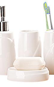 hvid ingen mønster badeværelse fire heldragt