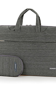 fopati® 15inch laptop case / tas / hoes voor Lenovo / mac / samsung bruin / lichtgrijs / donkergrijs