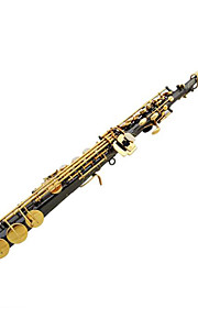Drop B Soprano Saxophone,Black nickel gold Jian Sax