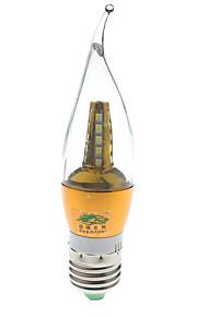 7W E26/E27 LED-lysestakepærer S14 25 SMD 2835 600 lumens lm Naturlig hvit Dekorativ AC 85-265 / AC 220-240 V 1 stk.
