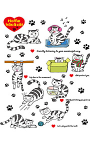 Animales / Caricatura / Palabras y Frases / Romance / Naturaleza muerta / De moda / Día Festivo / Paisaje / Formas / FantasíaPegatinas de