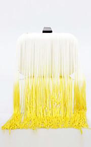 L.WEST Women's The Gradient Tassel Evening Bag
