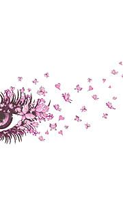 Животные / Мультипликация / Романтика / Мода / Цветы / Праздник / Пейзаж / Геометрия / люди / фантазия Наклейки Простые наклейки,PVC135cm