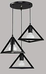 / מנורות תלויות ,  רטרו צביעה מאפיין for LED / עמיד במים מתכתחדר שינה / חדר אוכל / חדר עבודה / משרד / חדר ילדים / חדר משחקים / מסדרון /