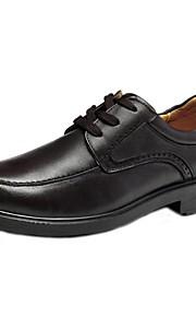 Chaussures Hommes Mariage / Bureau & Travail / Habillé / Décontracté / Soirée & Evénement Marron Cuir Nappa Richelieu