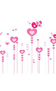 Животные / Романтика / Натюрморт / Мода / Отдых Наклейки Простые наклейки,PVC 90*60*0.1