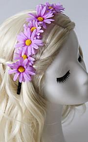 Women's / Flower Girl's Fabric Headpiece-Casual / Outdoor Headbands 1 Piece