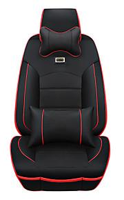 fashion luxe auto seat cover universele past zetel beschermer stoelhoezen met kussen set