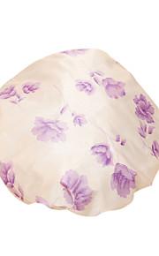 가정 만화 방수 샤워 여자 목욕 스파 탄성 모자 캡 모자