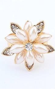 Alliances Femme / Amoureux / Unisexe Imitation de perle / Stras Alliage Alliage