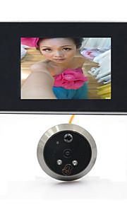 3,5 lcd digital video 120 vidvinkel afsløring auto dør viewer øje dørklokken kamera kighul bevægelse nattesyn