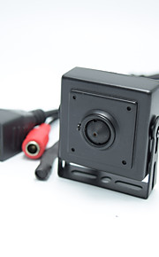 720p mini ip kamera sikkerhed kamera 1,0 megapixel h.264 p2p support 32g TF kort ip / netværk ip cam til 2,8 mm linse