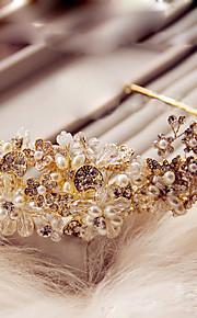 Donne Cristalli / Ottone / Lega / Perle false Copricapo-Matrimonio / Occasioni speciali / All'aperto Fasce 1 pezzo
