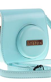 pu læder kamerataske til Fujifilm instax mini 8 kamera mini8 / mini 8+ øjeblikkelig filmkamera