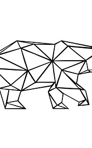애니멀 / 카툰 벽 스티커 플레인 월스티커,PVC M:42*84cm/L:56*111cm