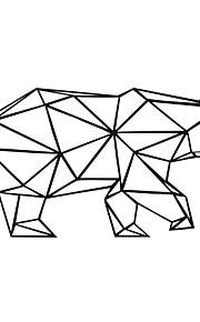 Animales / Caricatura Pegatinas de pared Calcomanías de Aviones para Pared,PVC M:42*84cm/L:56*111cm