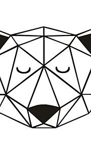 애니멀 / 카툰 벽 스티커 플레인 월스티커,PVC M:42*49cm/L:56*66cm