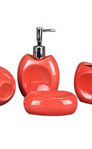 вогнутая полые керамические ванной четыре куска костюм