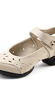 Sapatos de Dança(Preto / Vermelho / Branco / Outro) -Feminino-Não Personalizável-Jazz