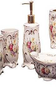 mar de la flor baño patrón de cinco cuadro + traje de una pieza