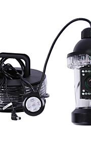 cctv 50m 360 gradi 18pcs led pesce videocamera pesca subacquea videocamera finder